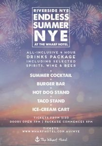 Endless Summer NYE at the Wharf Hotel Melbourne